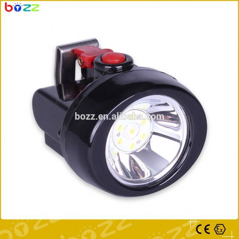 explosion proof 1w plastic rechargeable led miner head lamp