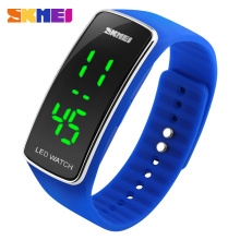 Fashion Colorful Bracelet Skmei 1119 Latest Silicone LED watch Plastic Digital sports Watches 5atm waterproof Unisex Relojes