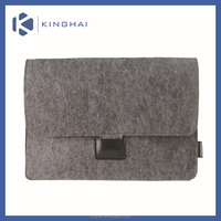 felt laptop sleeve/Grey felt sleeve