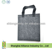 Wool felt eco-friendly portable shopping bag storage bag magazine sorting bags (TM-FT011)