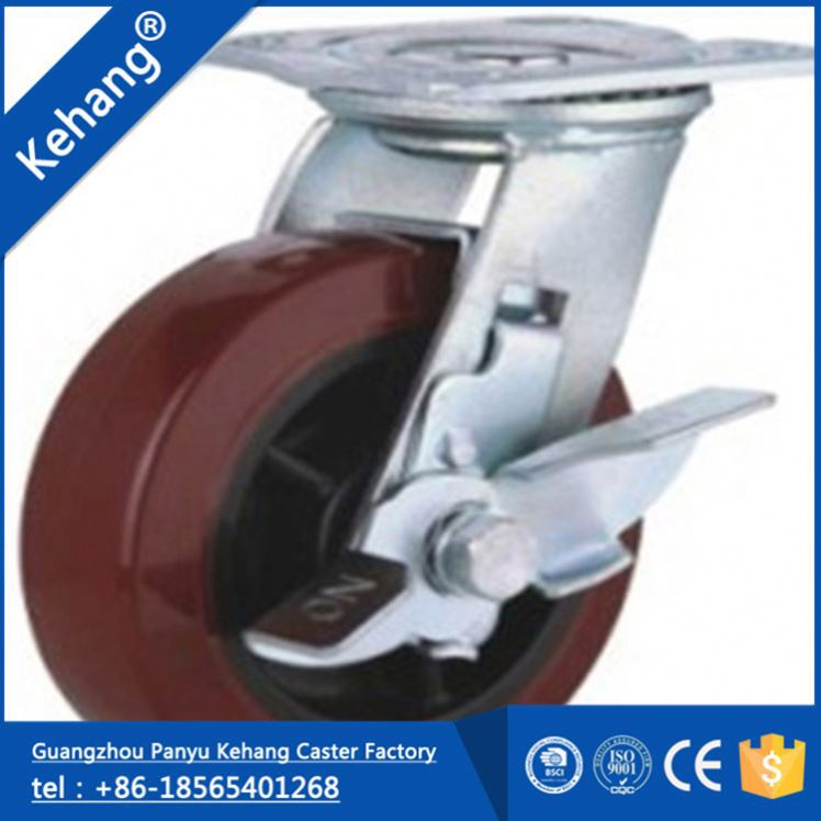 Guangzhou Wearable Long Working Life pp manufacturing rotary caster wheels