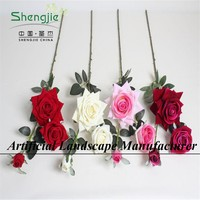 Hot sale decorative artificial flower rose for wedding decor