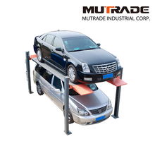 Hydraulic Motor 4 Column Used Car Lifts for Sale Car Parking System
