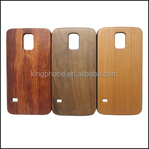 New products 2015 high quality wooden back cover case for samsung galaxy s5