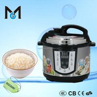 Stainless steel multi pressure rice cooker