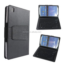 China Factory Custom High quality leather Bluetooth keyboard case for Samsung Galaxy Tab 4 8.0 inch T330