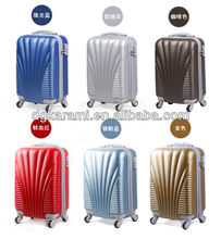 "20""24""28"" trolley abs hard case luggage set, travel suitcase factory 201"