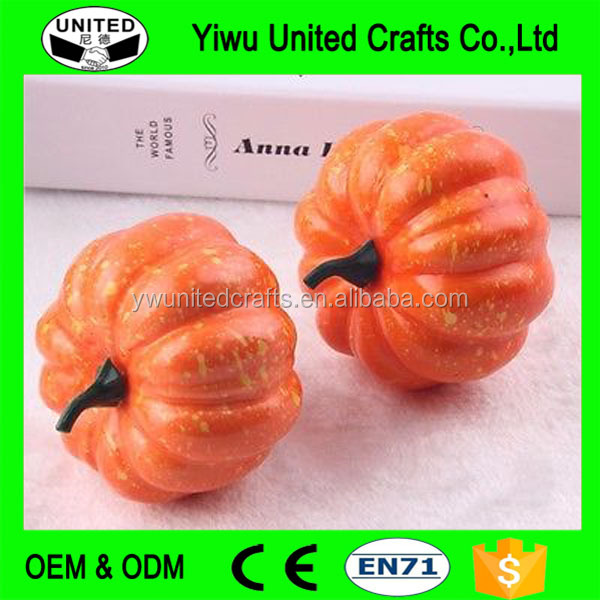 Easter Decoration Foam Pumpkin white foam craft pumpkins foam pumpkins for sale
