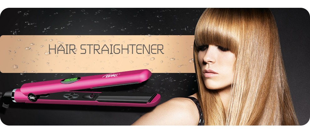 Professional ceramic flat iron and hair straightener and hair salon equipment and hair flat iron