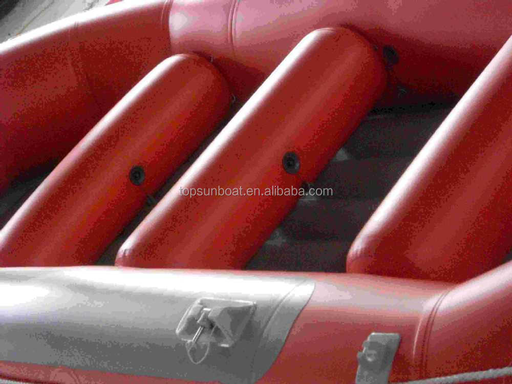 5m with 10 person large drifting boat inflatable river raft enough for sale.