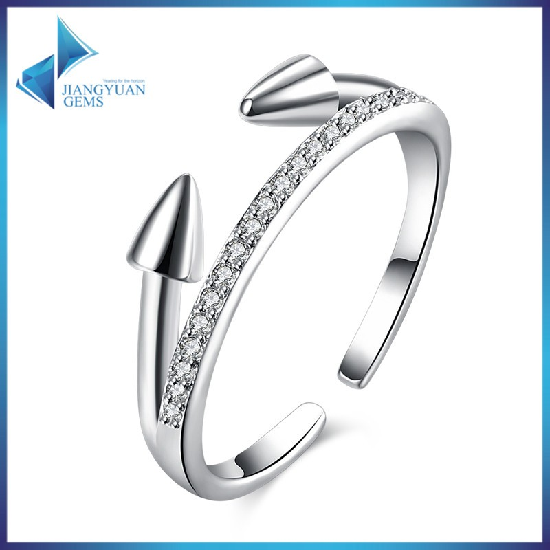 arrows design for love value 925 silver ring