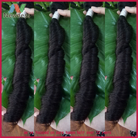 100 percent raw grade 7a virgin brazilian spring curl hair
