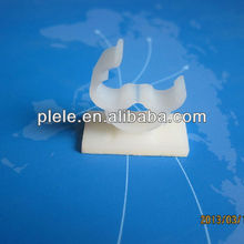 nylon 66 LYK-01 natural plastic electrical cable clamp