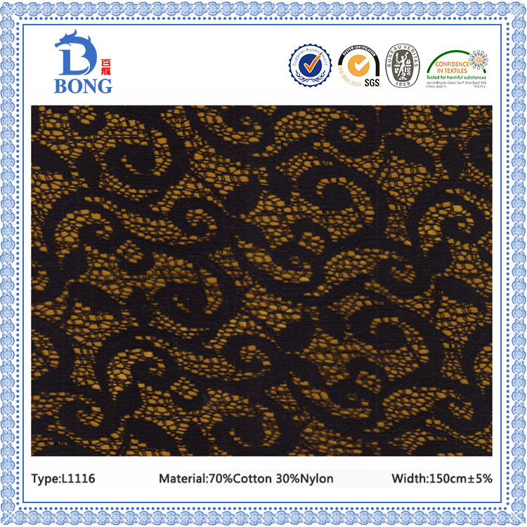 New voile african lace fabrics manufacturer
