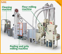 2016 Hot Sale Low price industrial maize flour mill machinery prices