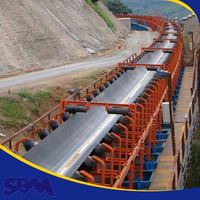 High efficiency Safety equipment used rubber conveyor belt importer