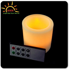 wax led light up remote control candle wholesale with cheap price and better package