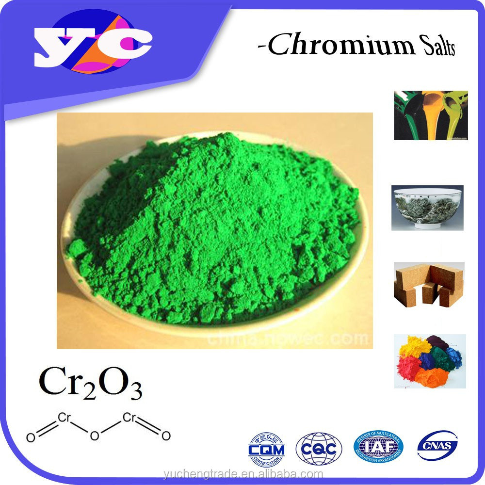 China Best Price Good Quality chrome oxide green / 1308-38-9 99.3%