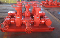 API Standard manual and hydraulic choke manifold for oilfield equipment