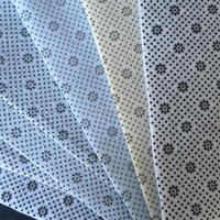 Carpet Base Felts Carpet Underlay Anti-slip Nonwoven Fabric Roll Coated with PVC Dots