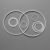 PTFE(Teflon)/PCTFE flat washers/gaskets/spacers