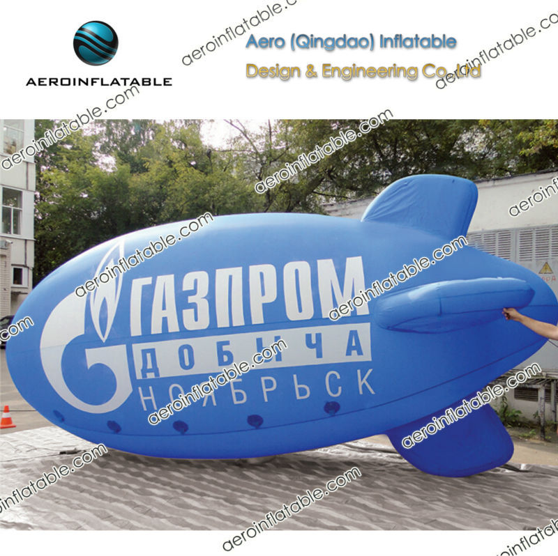 Inflatable tethered blimp / giant round helium inflatable balloon / Airship / Zeppelin / Dirigible