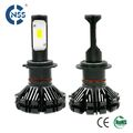 Fanless High Power 6000lm Auto LED H7 Headlights for car and motorcycle
