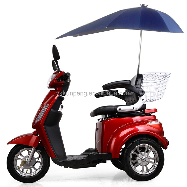 2 seat foldable electric mobility scooter