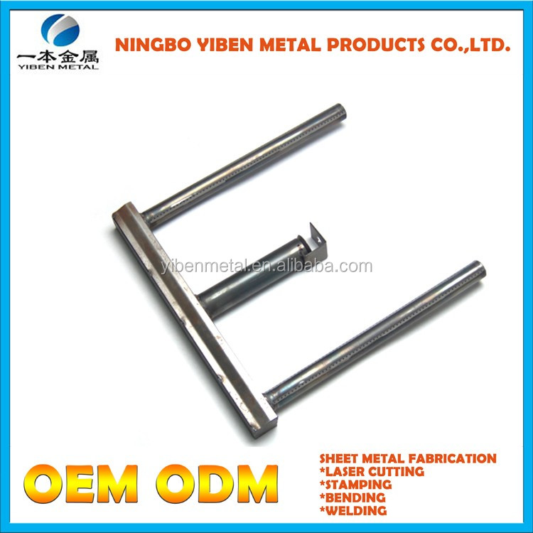 Galvanized material metal stamping with high quality