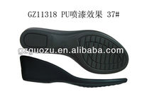Ladies oxford leather sole shoes 2013/PU shoe sole