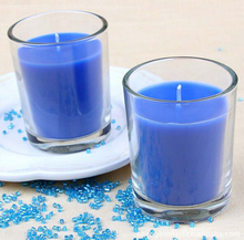 Christmas Luxury Glass Candle Jar votive candle holder