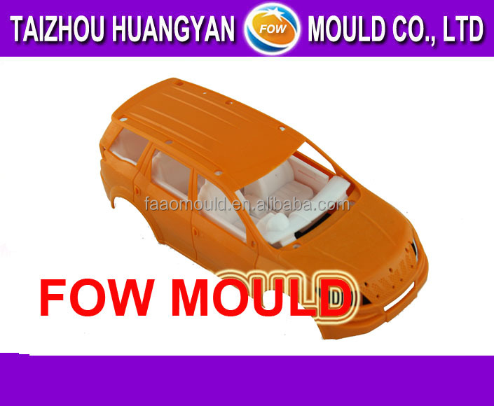2014 perfect plastic injection SUV car model mould