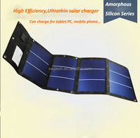 High Conversion Flexible Solar Energy charger for laptop,car battery,mobile phone