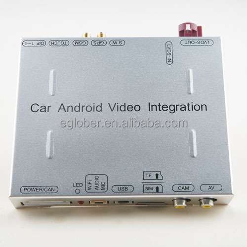 2016 VW Polo Android video integration with vehicle Internet service by I cloud