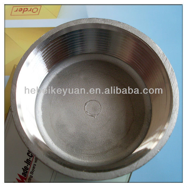 Stainless steel threaded end cap manufacturers