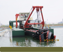 NEW hydraulic cutter suction river cleaning dredger machine for sand dredging