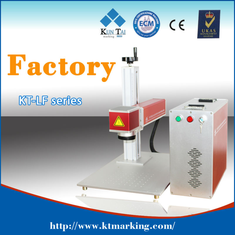 Portable type fiber laser marking machine for Micro sd memory card
