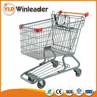 New china products personalized cheap metal folding shopping cart