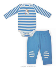 2015 latest design factory supply boutique quality infant baby bodysuit