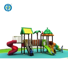 Wholesale cheap price commercial plastic slides kids outdoor playground