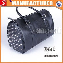 Hottest Ladies Rivet Duffel Bags Wholesale