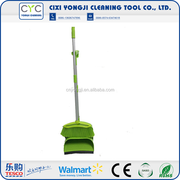 2016 high quality durable broom plastic dustpan set
