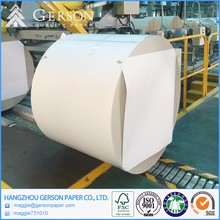 China Factory Cheap White Clay Coated Kraft Paper Back With Duplex Board Grey Back