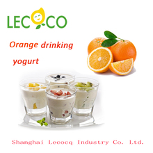 New product promotion orange Drinking Yoghurt Emusifier and Stabilizer