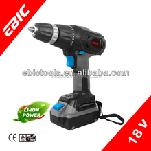 18V LI-ION battery charger drill machine of cordless impact driver drill
