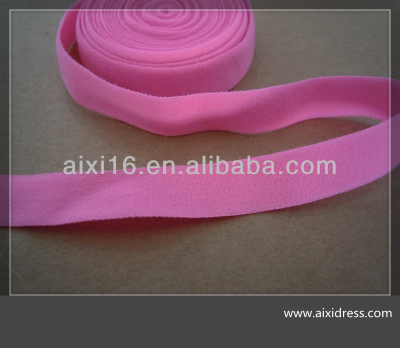 knit elastic stretch tape/neck tape/nylon/spandex/binding tape