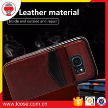 Wallet leather phone case for Samsung Galaxy S7 edge