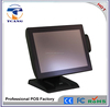 true flat 15 inch all in one fanless pos system/pos terminal/cash register with touch screen