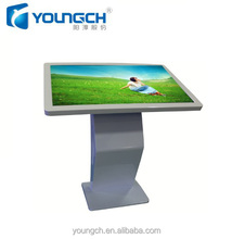 Indoor LCD advertising display all in one touch screen PC 55 inch