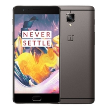 Free sample Wholesale China Original OnePlus 3T, 6GB+64GB Fingerprint Identification, Double Cameras 5.5 inch 4G Mobile Phone